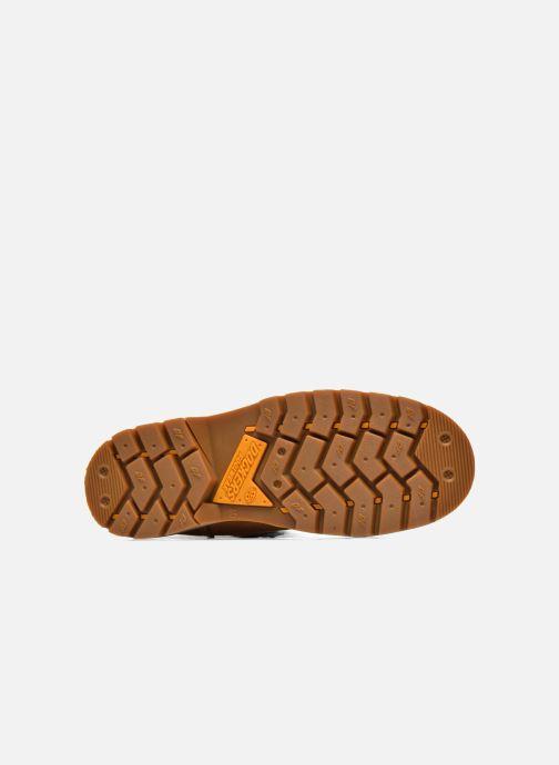 Bottines et boots Dockers Ugo Beige vue haut