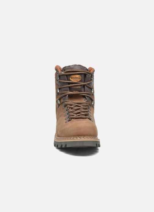 Bottines et boots Dockers Teo Marron vue portées chaussures