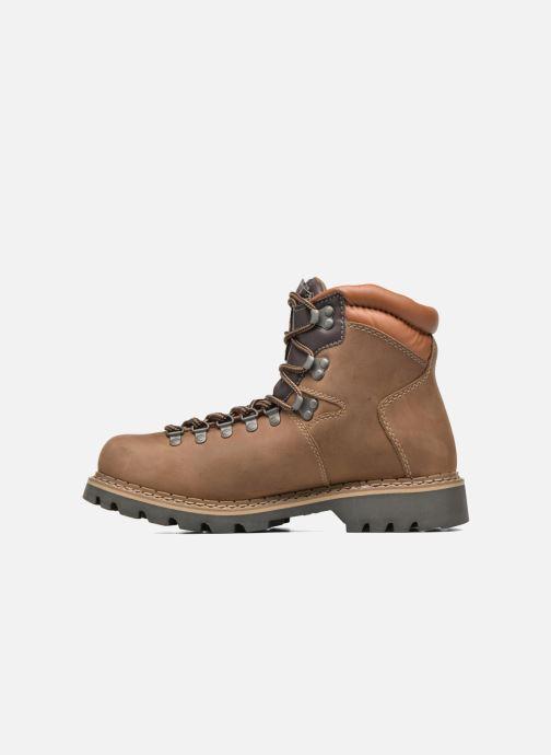 Bottines et boots Dockers Teo Marron vue face