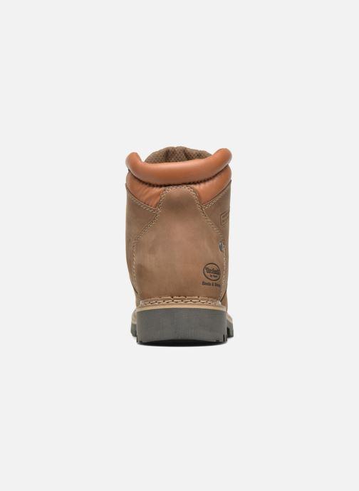 Bottines et boots Dockers Teo Marron vue droite