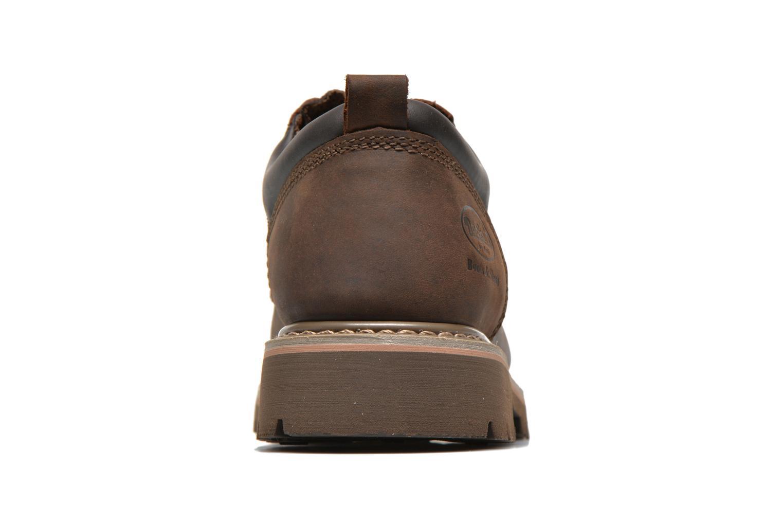Chaussures à lacets Dockers Vinc Marron vue droite