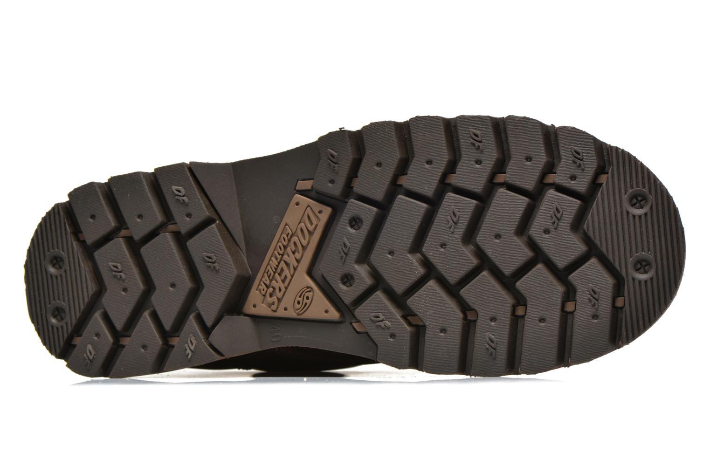 Chaussures à lacets Dockers Vinc Marron vue haut