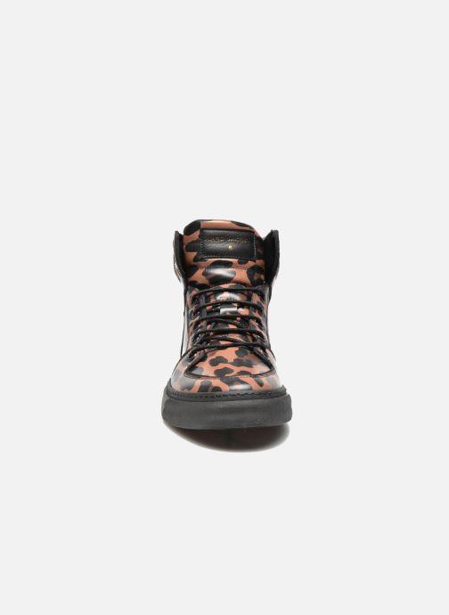 Baskets Marc Jacobs Flash Marron vue portées chaussures