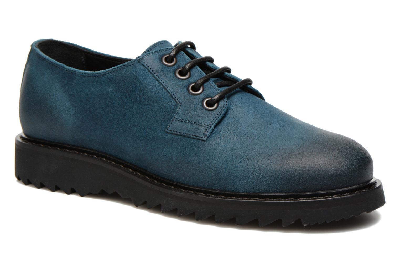 Chaussures à lacets Marc Jacobs Vouie Bleu vue détail/paire