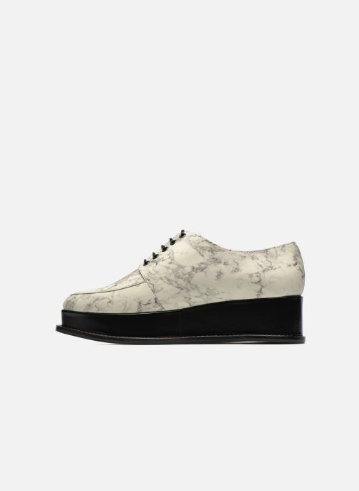 Platform White Ceremony Opening Off Leather 116 Chaussures Eleanora Multi Marble À Lacets trhQsdC