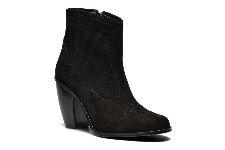 Bottines et boots Opening Ceremony Suede Pioneer Bootie Noir vue détail/paire