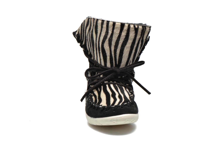 Stiefeletten & Boots Yum Gum Aspen Animal schwarz schuhe getragen