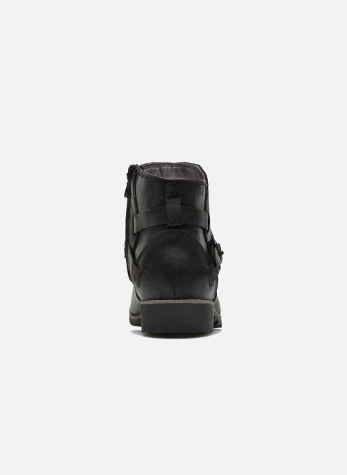 Bottines et boots Teva Delavina Ankle Noir vue droite