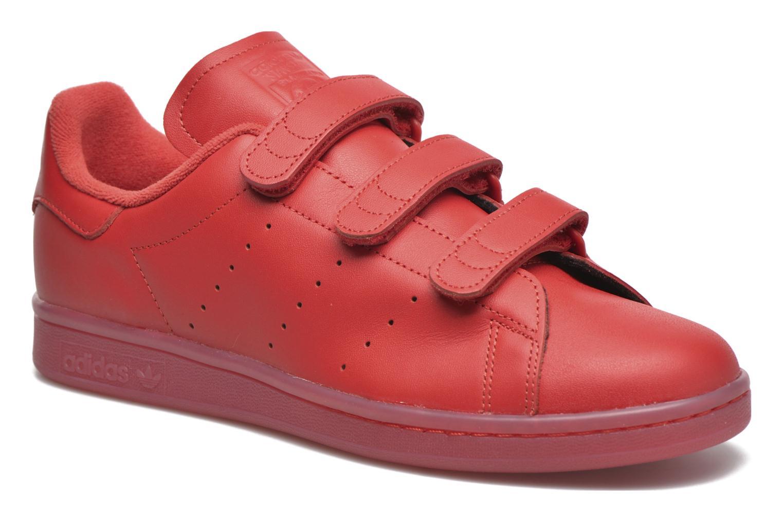 Baskets Adidas Originals Stan Smith Cf Rouge vue détail/paire