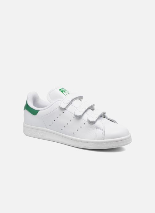 Trainers adidas originals Stan Smith Cf W White detailed view/ Pair view