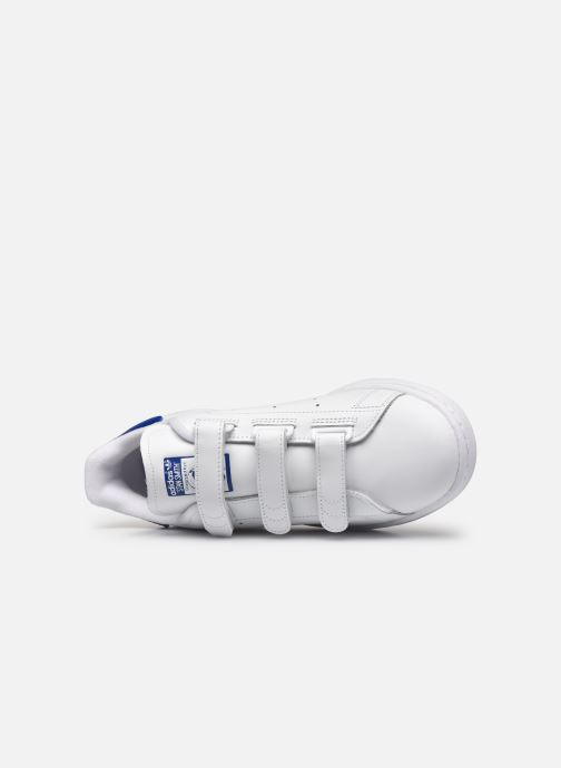 Trainers adidas originals Stan Smith Cf W White view from the left