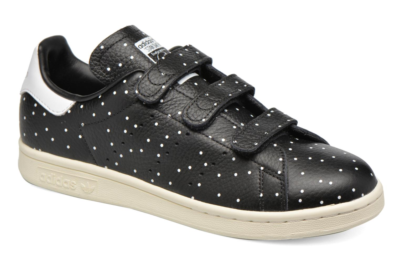 brand new 9a856 0415d ... canada baskets adidas originals stan smith cf w noir vue détail paire  bb232 72e73