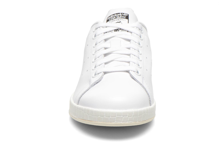 Baskets Adidas Originals Stan Smith Luxe W Blanc vue portées chaussures