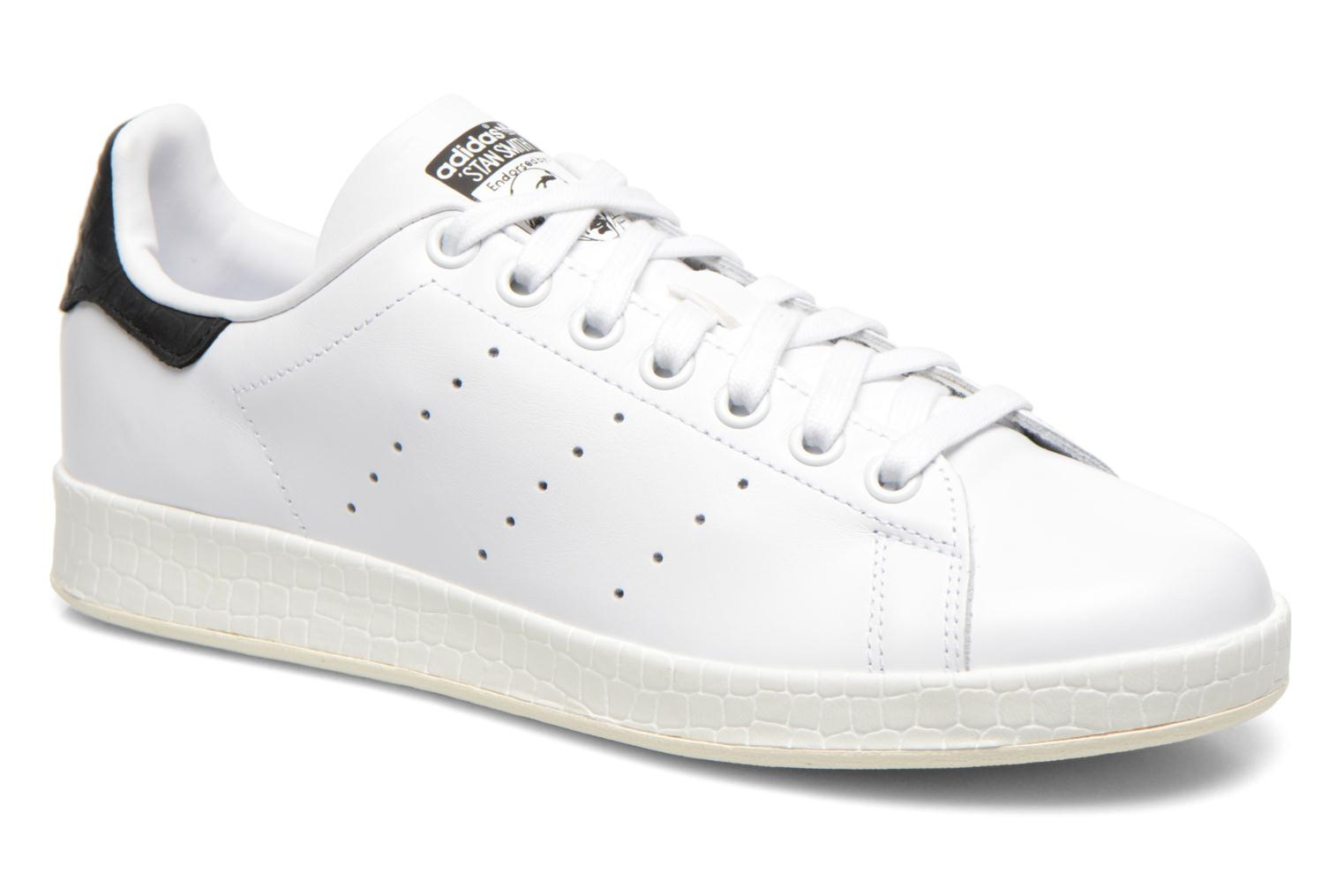 Baskets Adidas Originals Stan Smith Luxe W Blanc vue détail/paire