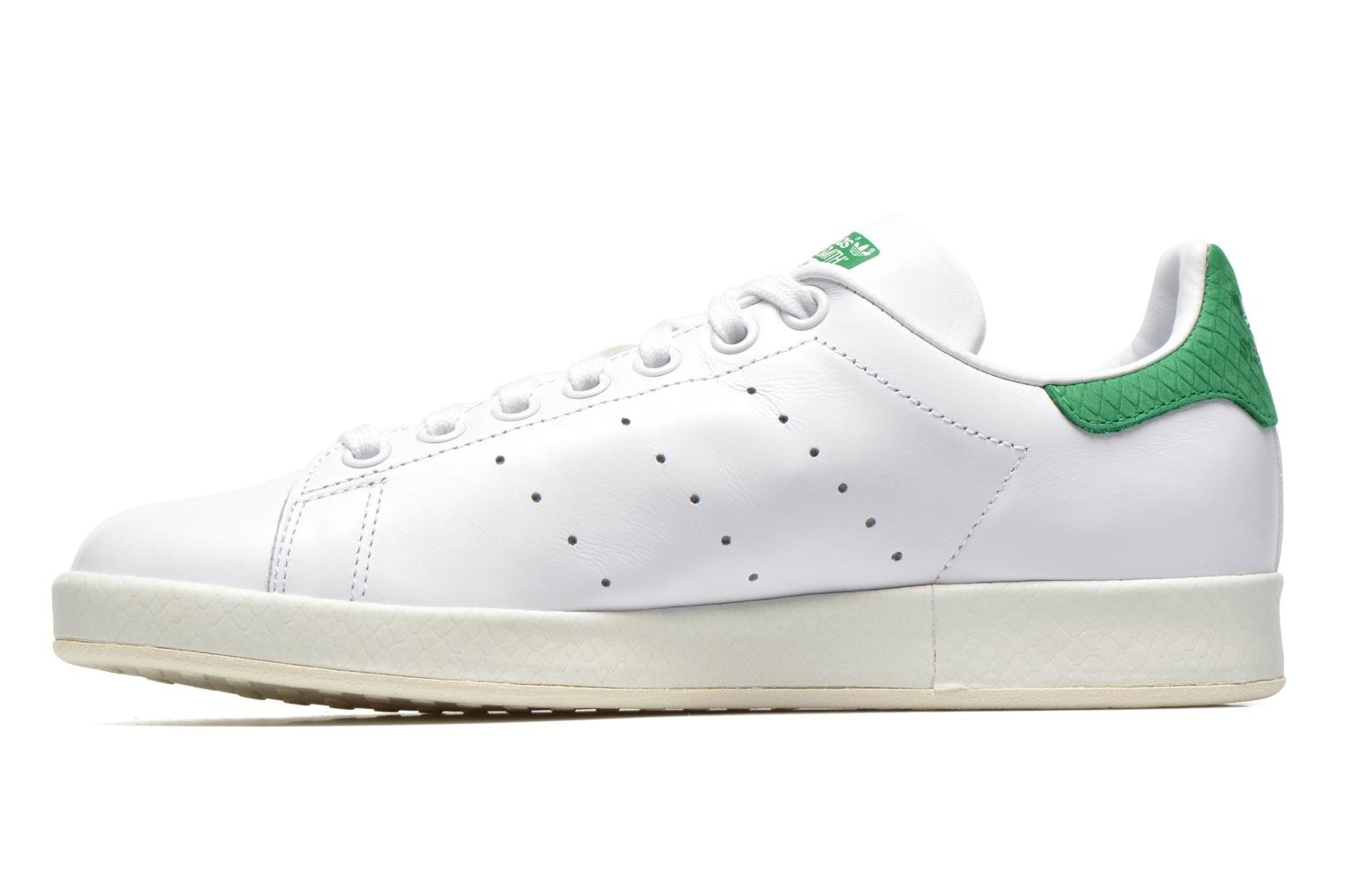Deportivas Adidas Originals Stan Smith Luxe W Blanco vista de frente