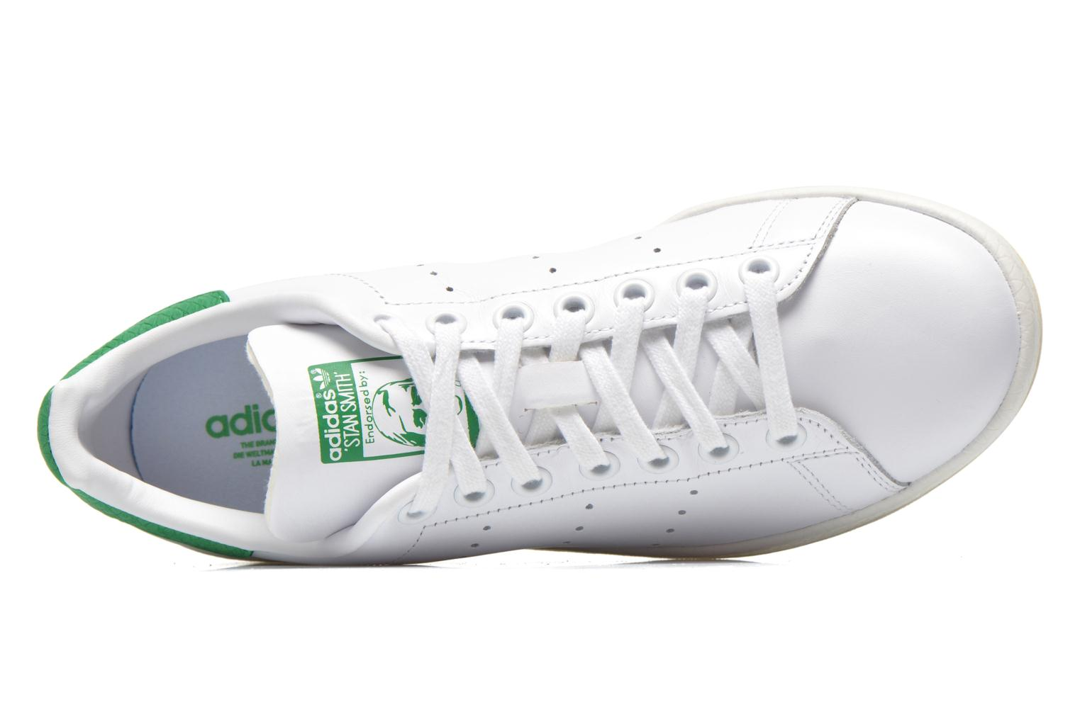 Deportivas Adidas Originals Stan Smith Luxe W Blanco vista lateral izquierda
