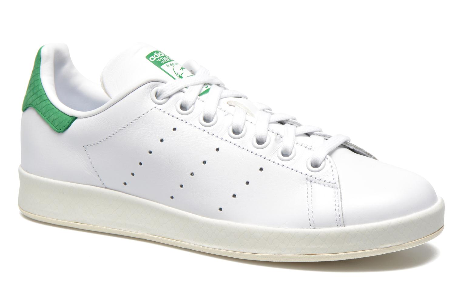 Deportivas Adidas Originals Stan Smith Luxe W Blanco vista de detalle / par