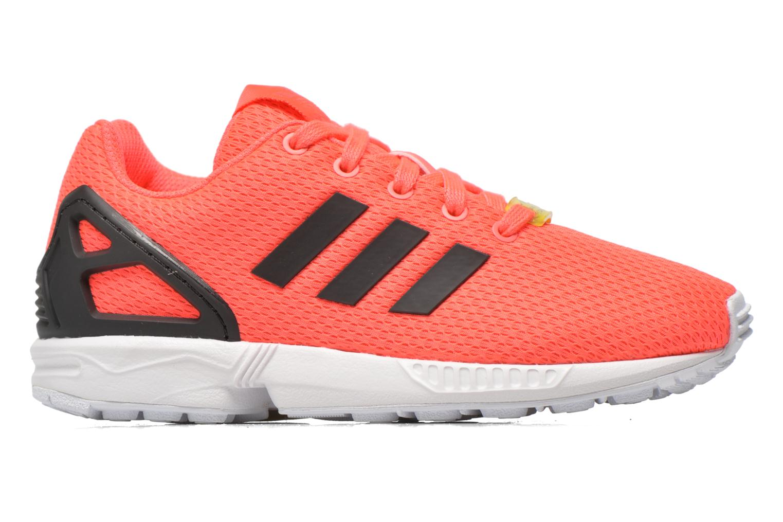 Trainers Adidas Originals Zx Flux K Pink back view