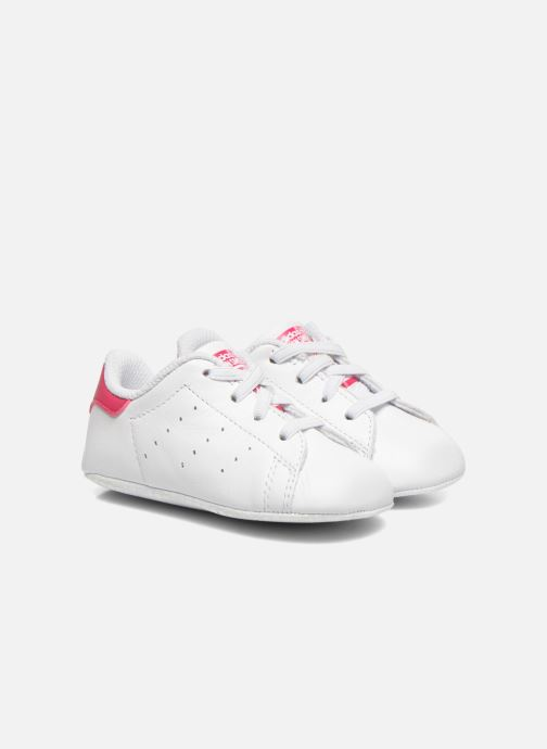Trainers adidas originals Stan Smith Crib White detailed view/ Pair view