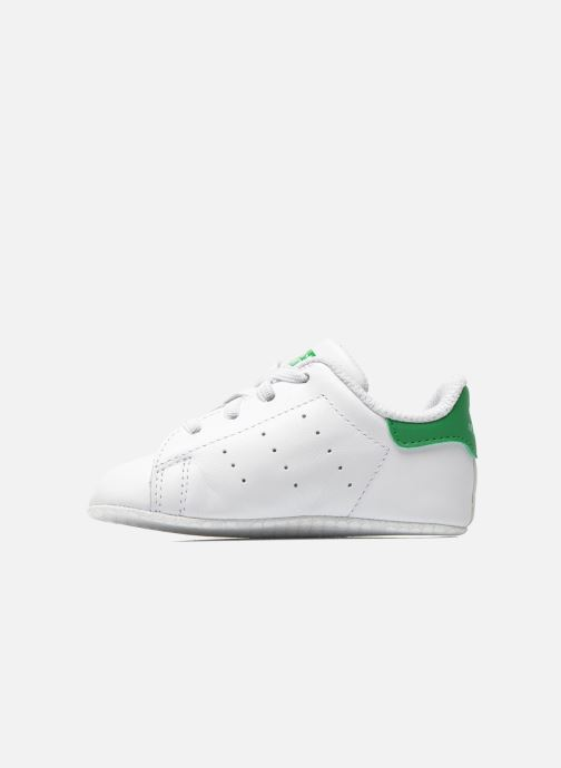 Baskets adidas originals Stan Smith Crib Blanc vue face
