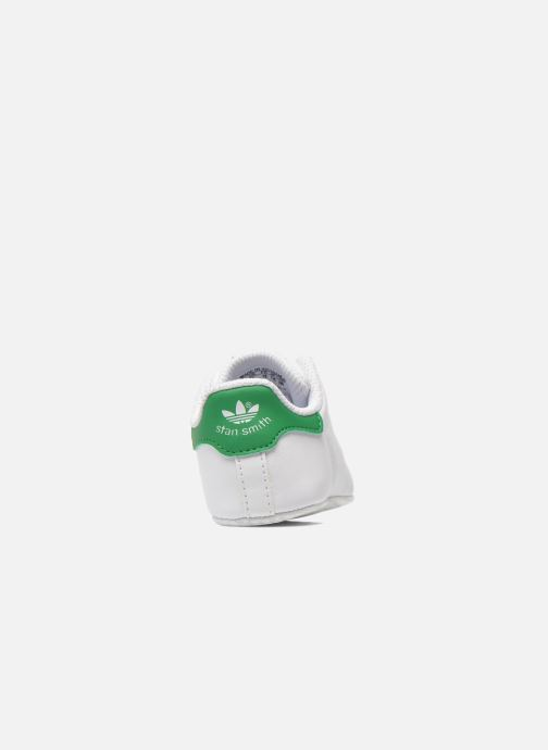 Trainers adidas originals Stan Smith Crib White view from the right
