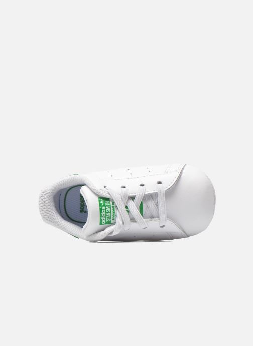 Baskets adidas originals Stan Smith Crib Blanc vue gauche