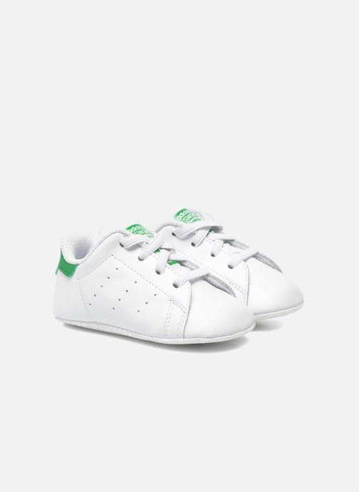 premium selection cee93 84e9d Baskets adidas originals Stan Smith Crib Blanc vue détail paire