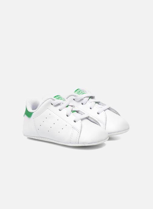 cheap for discount 1b96f 9d10b Baskets Adidas Originals Stan Smith Crib Blanc vue détail paire