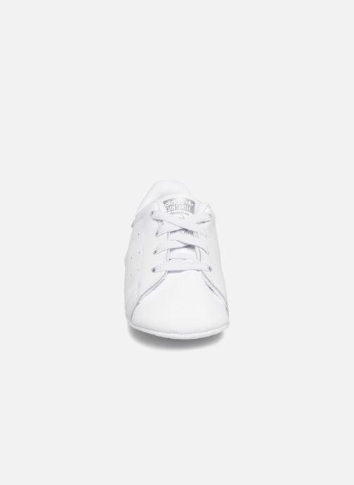Sneaker adidas originals Stan Smith Crib weiß schuhe getragen