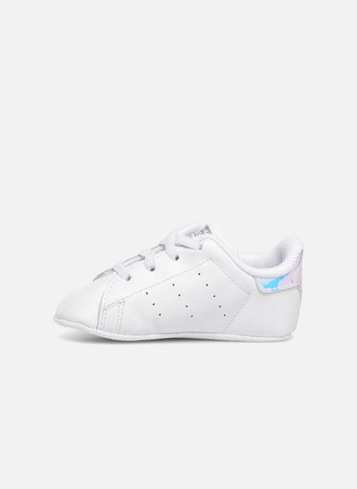 Sneaker adidas originals Stan Smith Crib weiß ansicht von vorne
