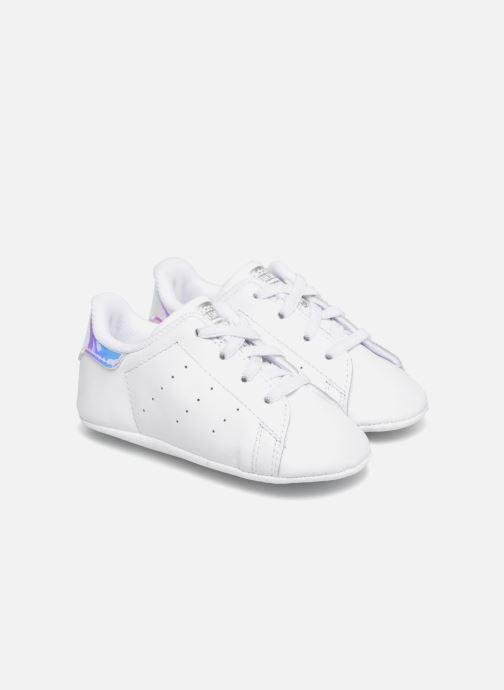 Sneakers adidas originals Stan Smith Crib Hvid detaljeret billede af skoene