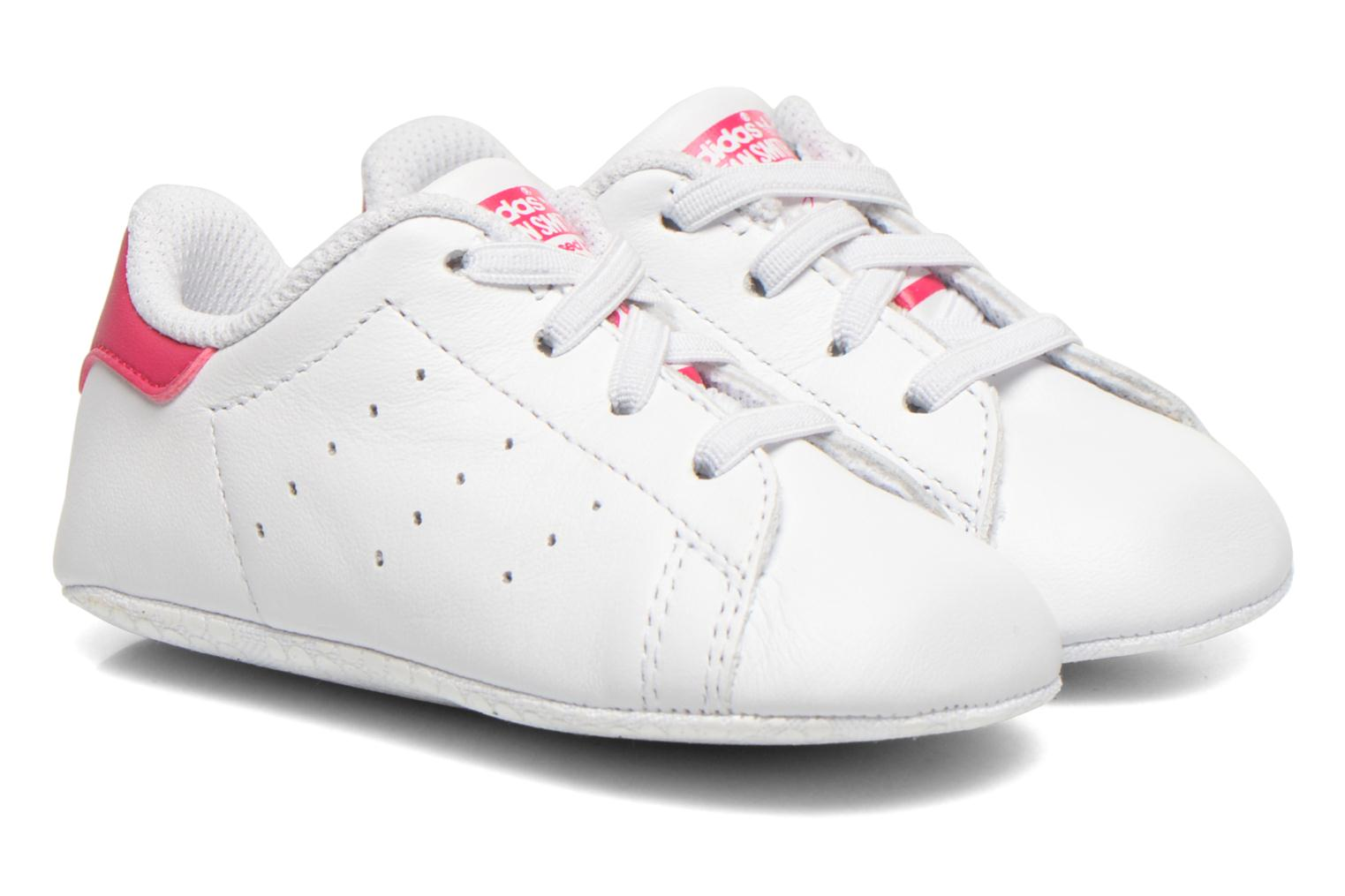 Baskets Adidas Originals Stan Smith Crib Blanc vue détail/paire