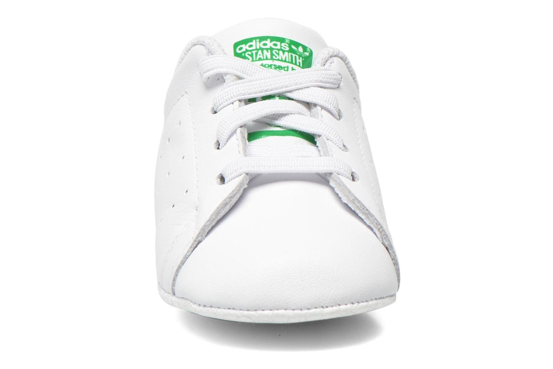 Sneakers Adidas Originals Stan Smith Crib Bianco modello indossato