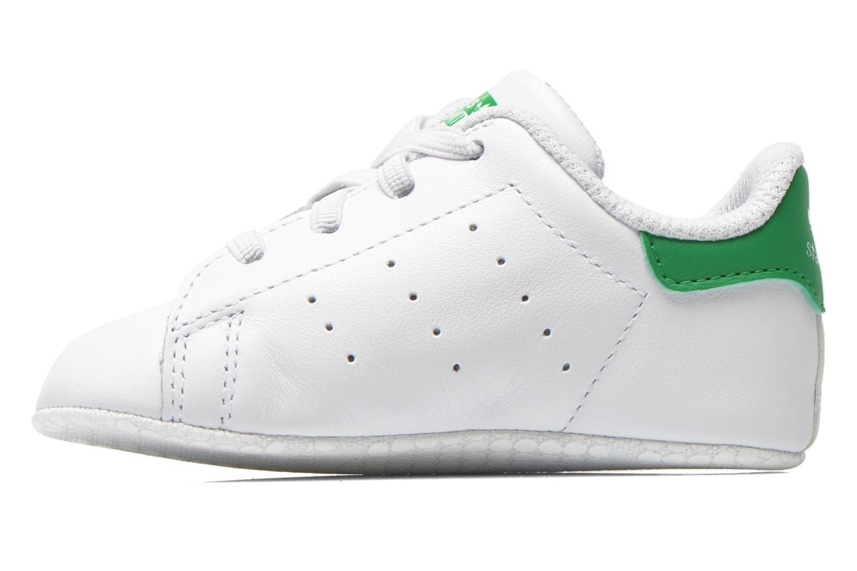 Baskets Adidas Originals Stan Smith Crib Blanc vue face