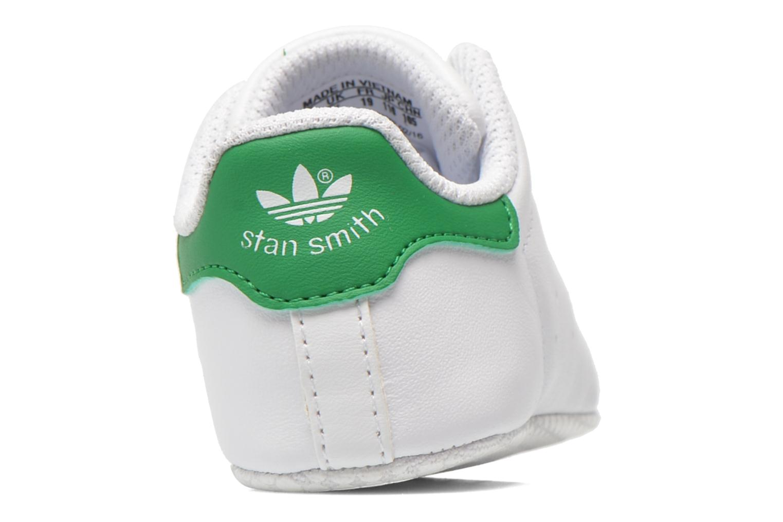 Baskets Adidas Originals Stan Smith Crib Blanc vue droite