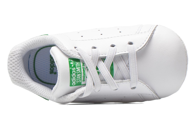 Baskets Adidas Originals Stan Smith Crib Blanc vue gauche