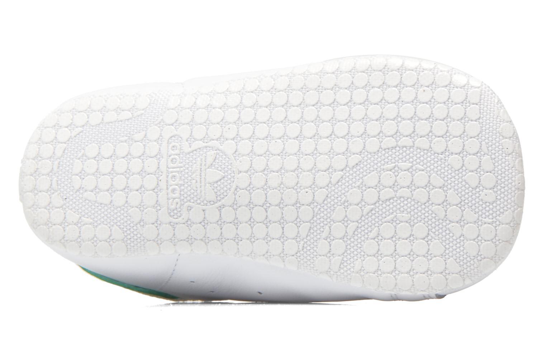 Baskets Adidas Originals Stan Smith Crib Blanc vue haut