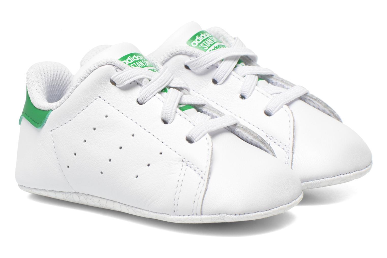 Baskets Adidas Originals Stan Smith Crib Blanc vue détail/paire
