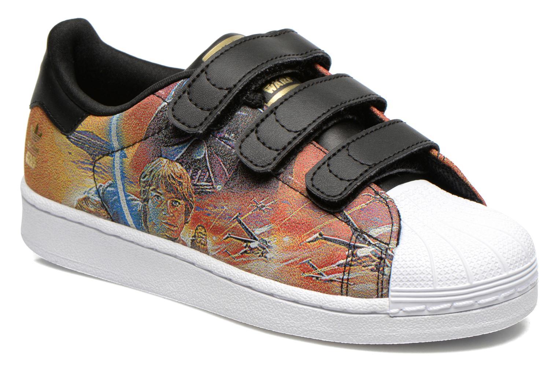 Baskets Adidas Originals Superstar Star Wars Cf C Multicolore vue détail/paire