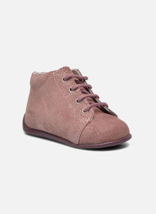 Boots en enkellaarsjes Bopy Padova Roze detail