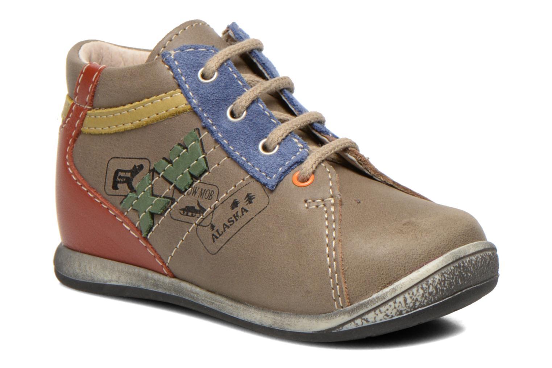 Boots en enkellaarsjes Bopy Zalaska Grijs detail