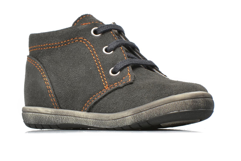 Stiefeletten & Boots Bopy Zarcos grau ansicht von hinten