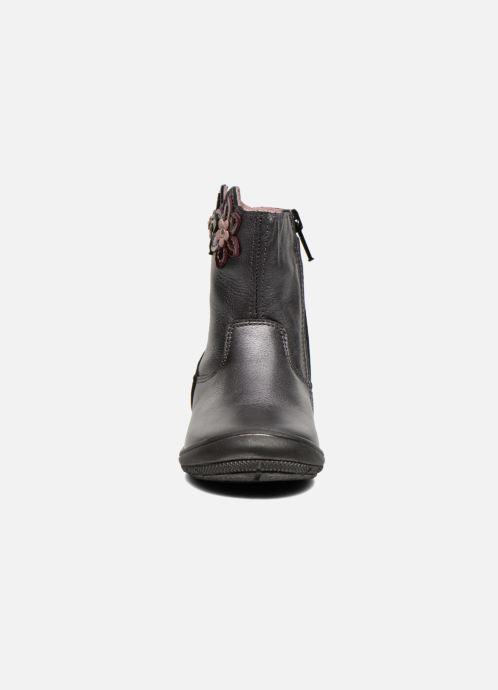 Bottes Bopy Bao Gris vue portées chaussures