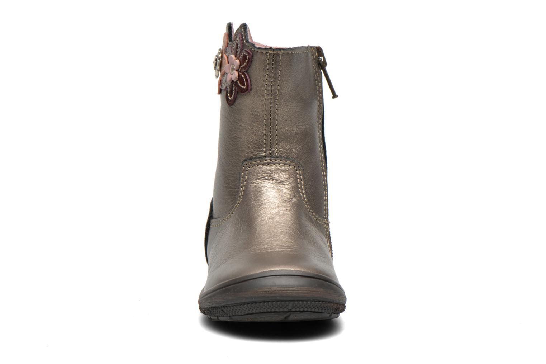 Bottes Bopy Bao Or et bronze vue portées chaussures
