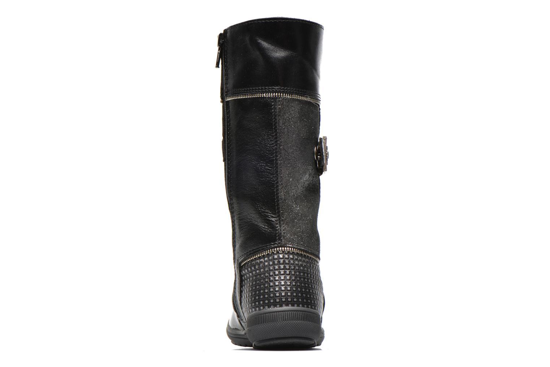 Stiefel Bopy Sondy schwarz ansicht von rechts