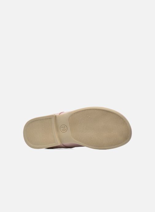 Ballerines Bopy Savenay Rose vue haut
