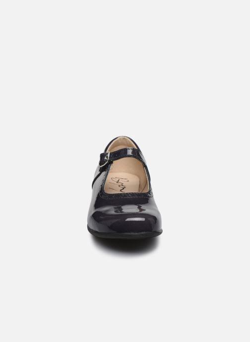 Ballerines Bopy Savenay Gris vue portées chaussures