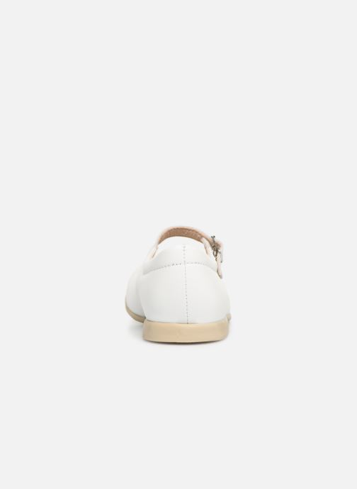 Ballet pumps Bopy Savenay White view from the right