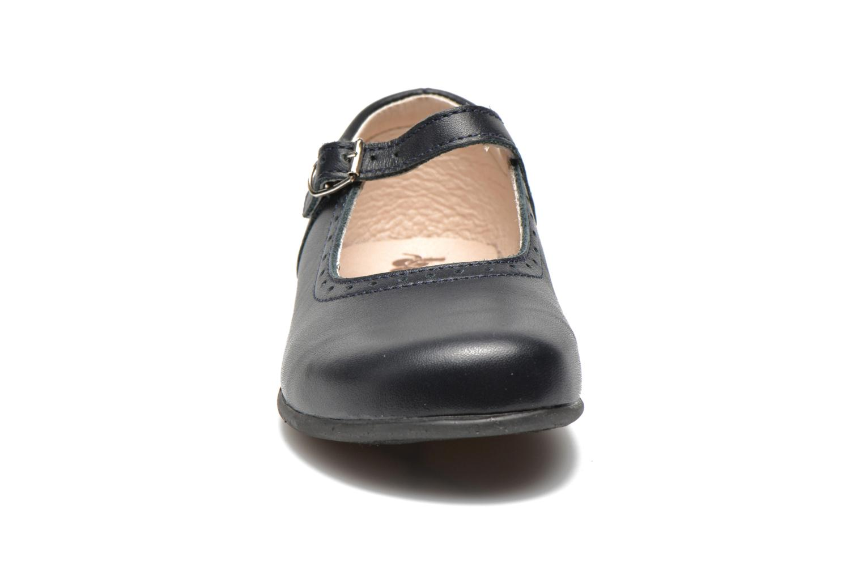 Ballerines Bopy Savenay Bleu vue portées chaussures