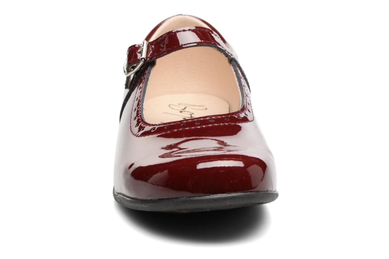 Ballerines Bopy Savenay Bordeaux vue portées chaussures